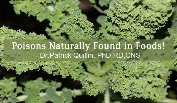 39 Plant Foods That Are Toxic Getting Healthier